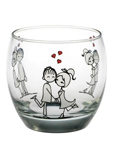 6'Lı Şeker Peker Su Bardağı-Joy Glass